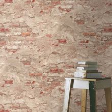 Albany Rustic Brick Wallpaper