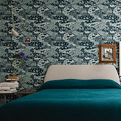Farrow & Ball Gable Green Wallpaper - Product code: BP 5405