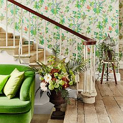 Little Greene Paradise Cream Wallpaper