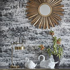 Kandola Venice Chalk Grey Wallpaper