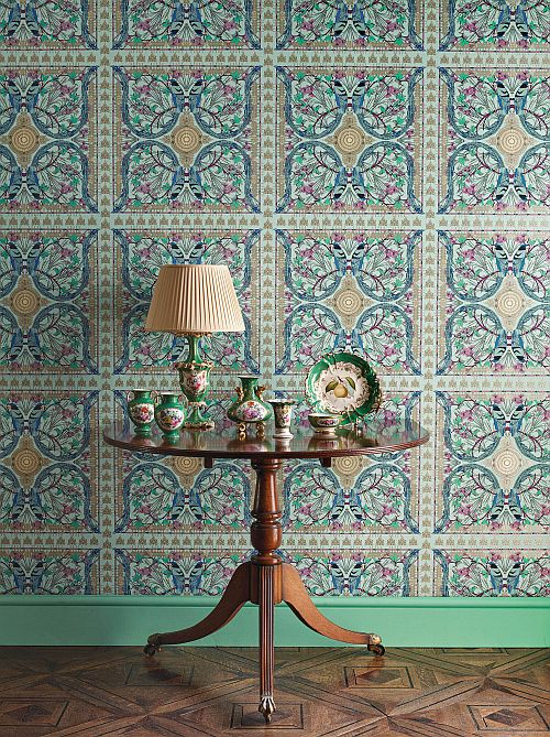 Matthew Williamson's Belvoir wallpapers