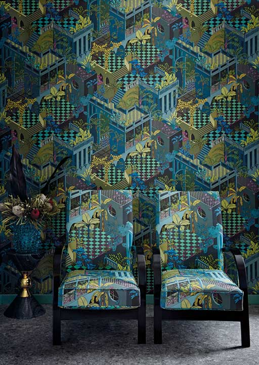 At last... its here! Cole & Son's first fabric collection.