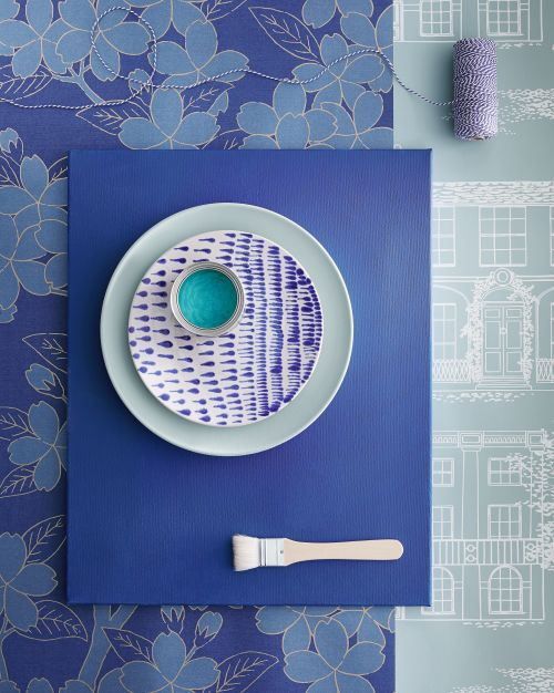 Little Greene Blue Wallpaper Collection