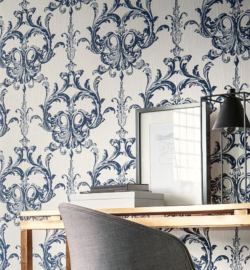 Silk Fabric effect wallpapers for that touch of luxury...