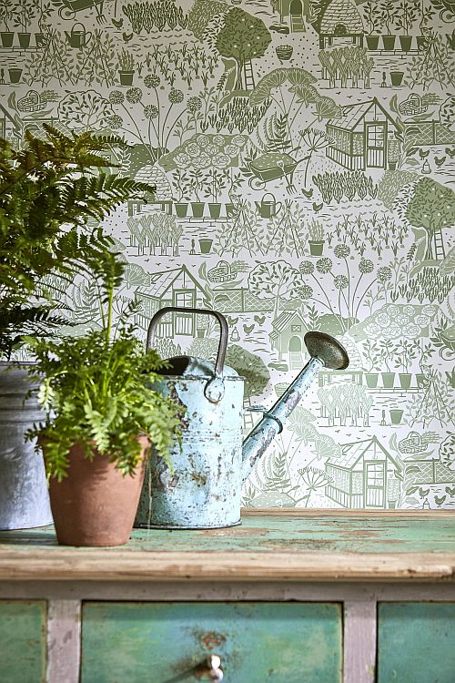 The Potting Room collection from Sanderson