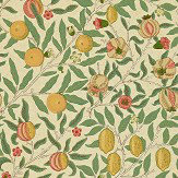 Morris Fruit Beige / Gold / Coral Wallpaper - Product code: WR8048/1