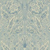Morris Savernake Blue Wallpaper - Product code: WR8480/3