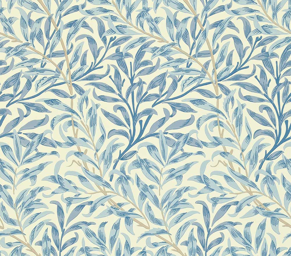 Morris Willow Boughs Blue Wallpaper - Product code: WM7614/4