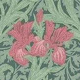 Morris Iris Wallpaper