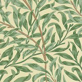 Morris Willow Boughs Green  Wallpaper - Product code: WM7614/1