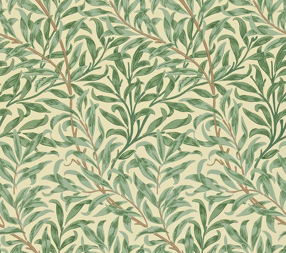 Morris Willow Boughs Green  Wallpaper - Product code: WM7614/1