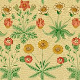 Morris Daisy Manilla / Russet Wallpaper - Product code: WR8479/1
