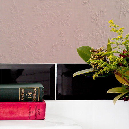 Anaglypta Portland / Floral Paintable Wallpaper - Product code: RD341