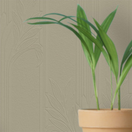 Anaglypta Wildacre / Floral White Wallpaper - Product code: RD803