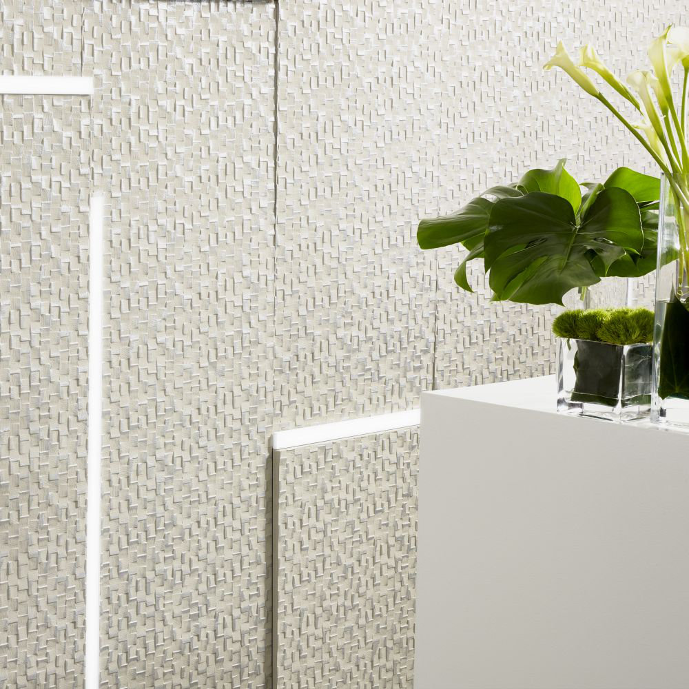 Lincrusta Chequers Paintable Wallpaper - Product code: RD1893FR