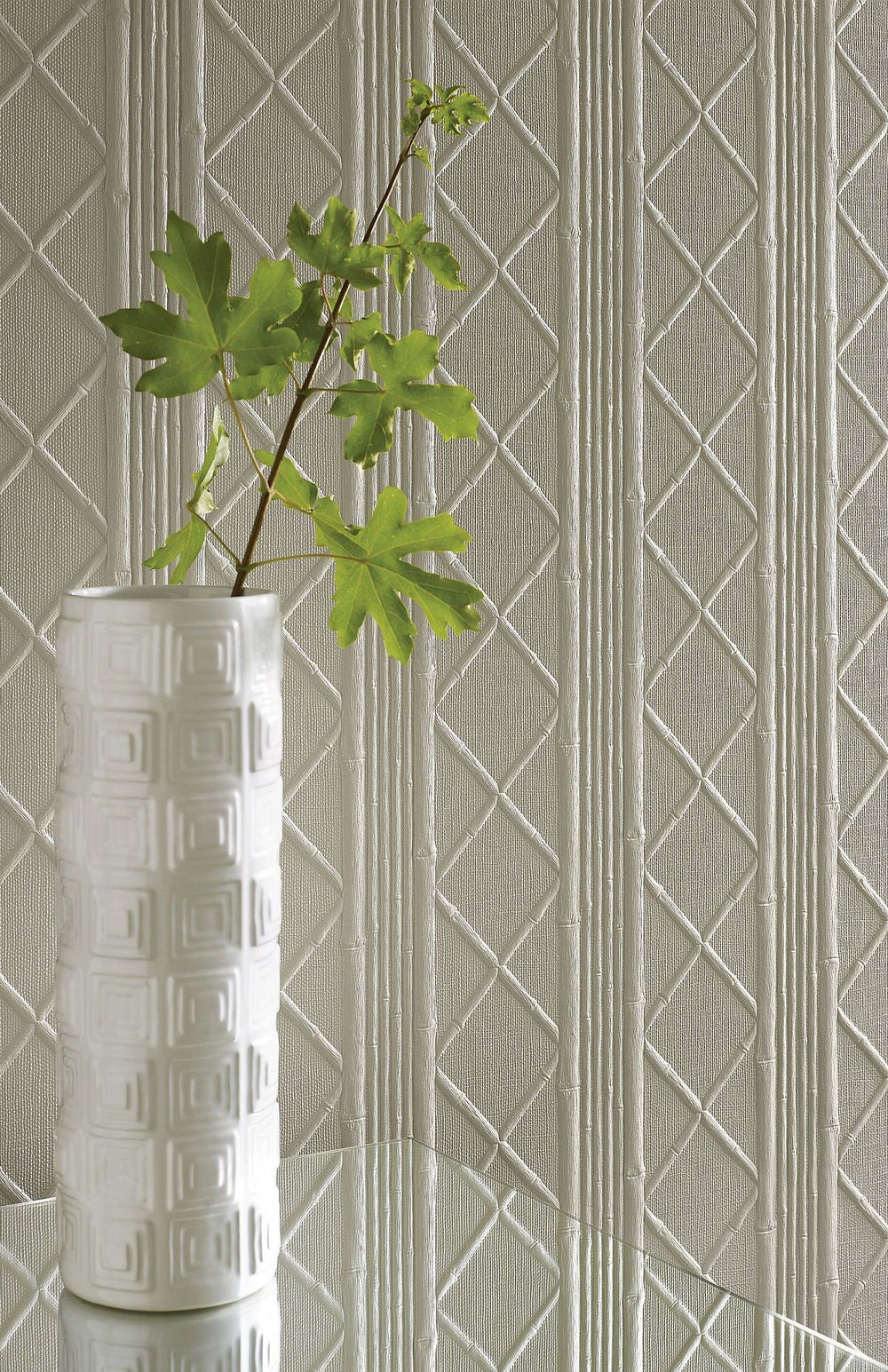 Cane Wallpaper - Paintable - by Lincrusta