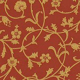 Morris Medway Terracotta Wallpaper - Product code: WM8555/4