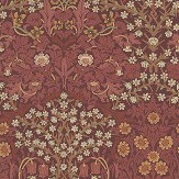 Morris Blackthorn Pink / Red Wallpaper