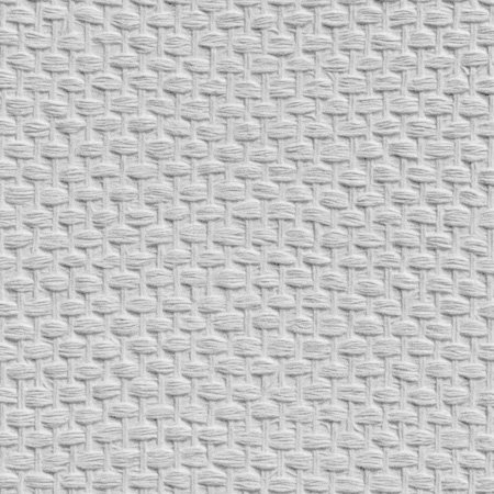 Weave Wallpaper - Paintable White - by Anaglypta