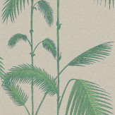 Cole & Son Palm Leaves Green / Cream Wallpaper