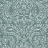 Cole & Son Malabar Grey / Blue Wallpaper - Product code: 66/1005