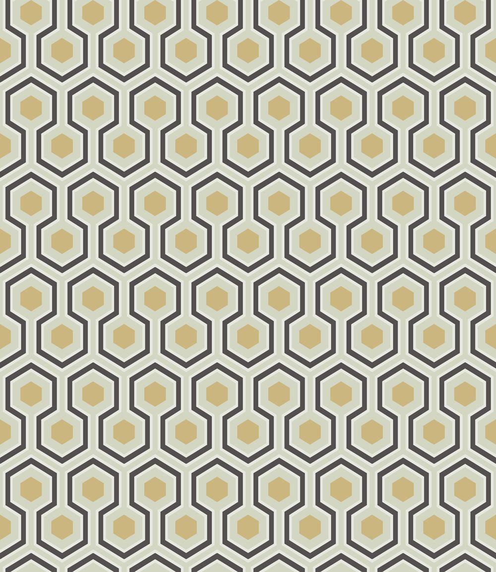 Cole & Son Hick's Hexagon Wallpaper main image