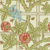 Morris Trellis Multi Wallpaper