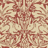 Morris Brer Rabbit Church Red Wallpaper - Product code: DMORBR106