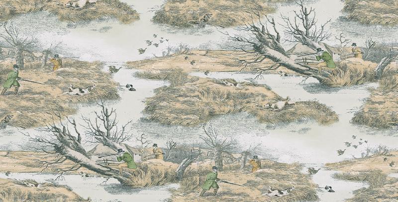 Image of Lewis & Wood Wallpapers Alken Wildfowlers, LW96