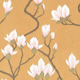 Cole & Son Magnolia  Gold Wallpaper - Product code: 72/3008