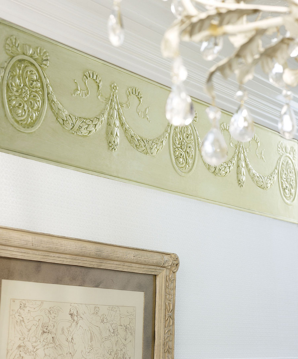 Cameo Frieze Border - Paintable - by Lincrusta