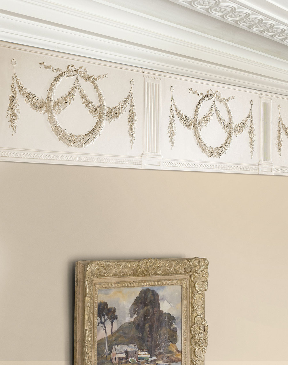 Lincrusta Adelphi Frieze Paintable Border - Product code: RD1949FR