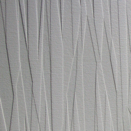 Folded Paper Wallpaper - Paintable White - by Anaglypta