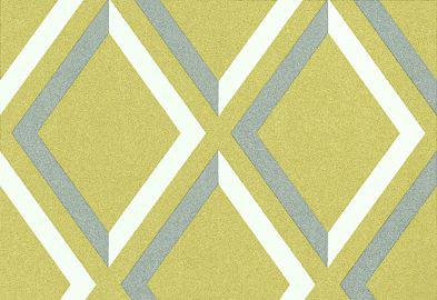 Cole & Son Pompeian Grey / White / Lime Wallpaper main image