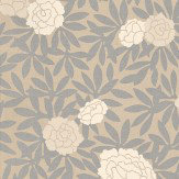 Osborne & Little Asuka Silver / Beige Wallpaper