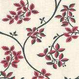 Farrow & Ball Ringwold Raspberry Wallpaper - Product code: BP 1652