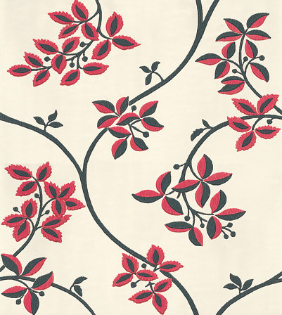 Farrow & Ball Ringwold Raspberry Wallpaper - Product code: BP 1652