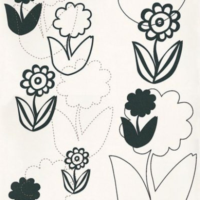 black flower wallpaper. Raffi Wallpaper Bamp;W Flowers