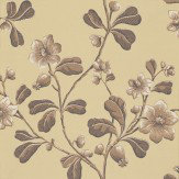 Little Greene Broadwick St Brown / Beige Wallpaper