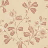 Little Greene Broadwick St Red Brown / Neutral Wallpaper