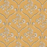 Little Greene Cranford Wheat Yellow Wallpaper