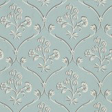 Little Greene Cranford Sky Blue Wallpaper