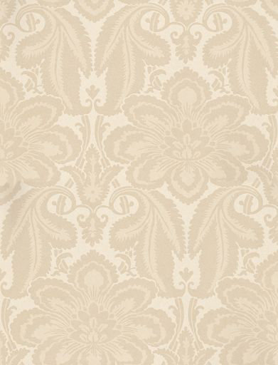 Little Greene Albemarle St Cream Wallpaper main image