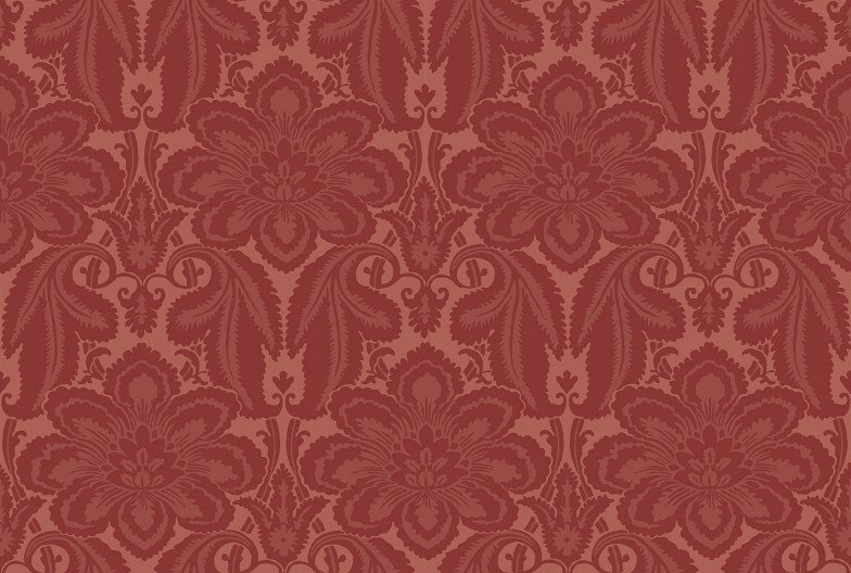 Image of Little Greene Wallpapers Albemarle St, 277ALFLAME