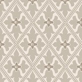 Little Greene Bayham Abbey Pale Grey and Stone Wallpaper