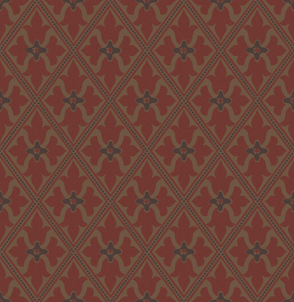 Little Greene Bayham Abbey Spanish Gold Wallpaper - Product code: 0277BASPANI