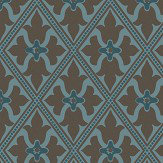Little Greene Bayham Abbey Blue Wallpaper