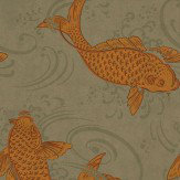 Osborne & Little Derwent Gold / Taupe / Grey Wallpaper - Product code: W5796/01