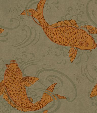 Derwent By Osborne Little Gold Taupe Grey Wallpaper W5796 01