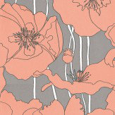 Osborne & Little Arizona Apricot / Grey Wallpaper - Product code: W5801/04